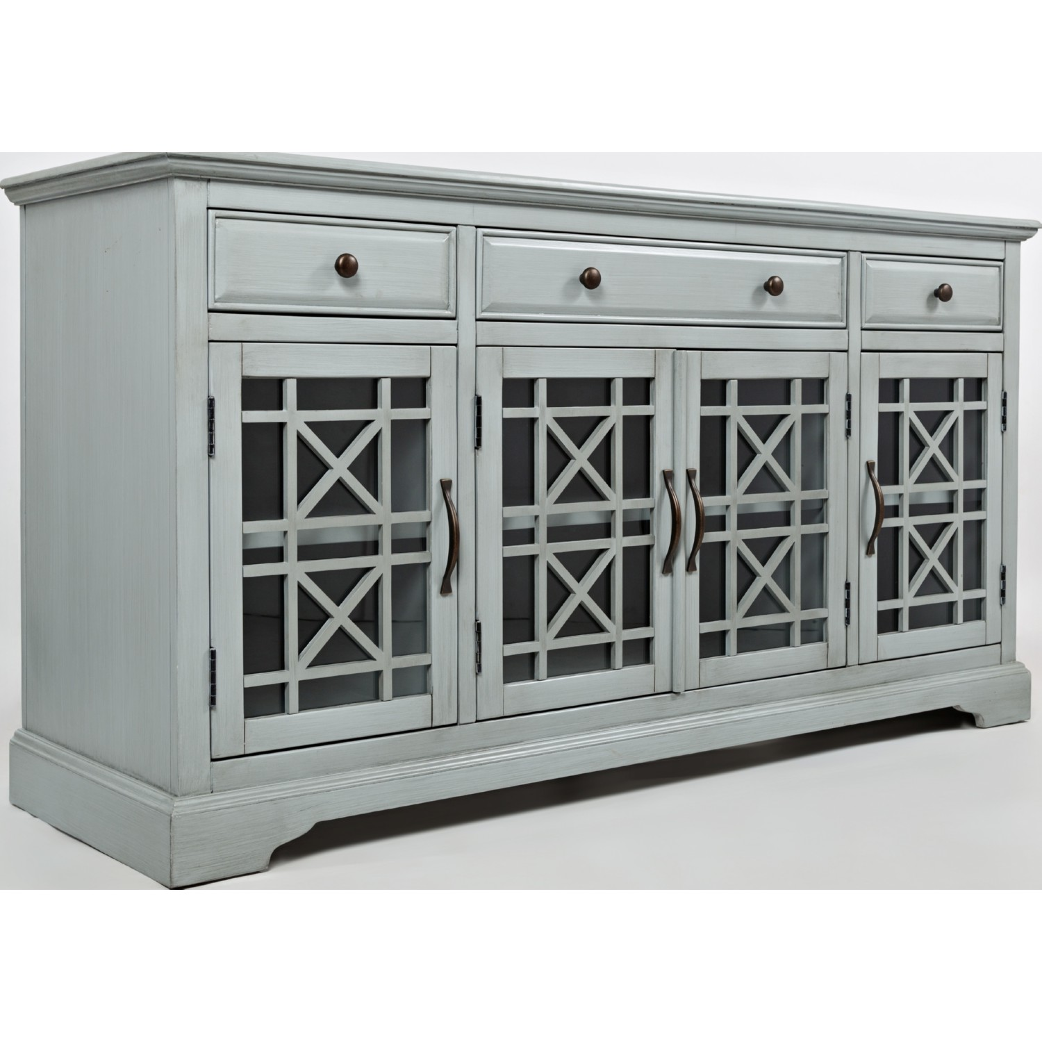 jofran accent cabinet table craftsman three drawer media unit antique blue room essentials white gold decor christmas linen tablecloths piece bistro set console silver drum hobby