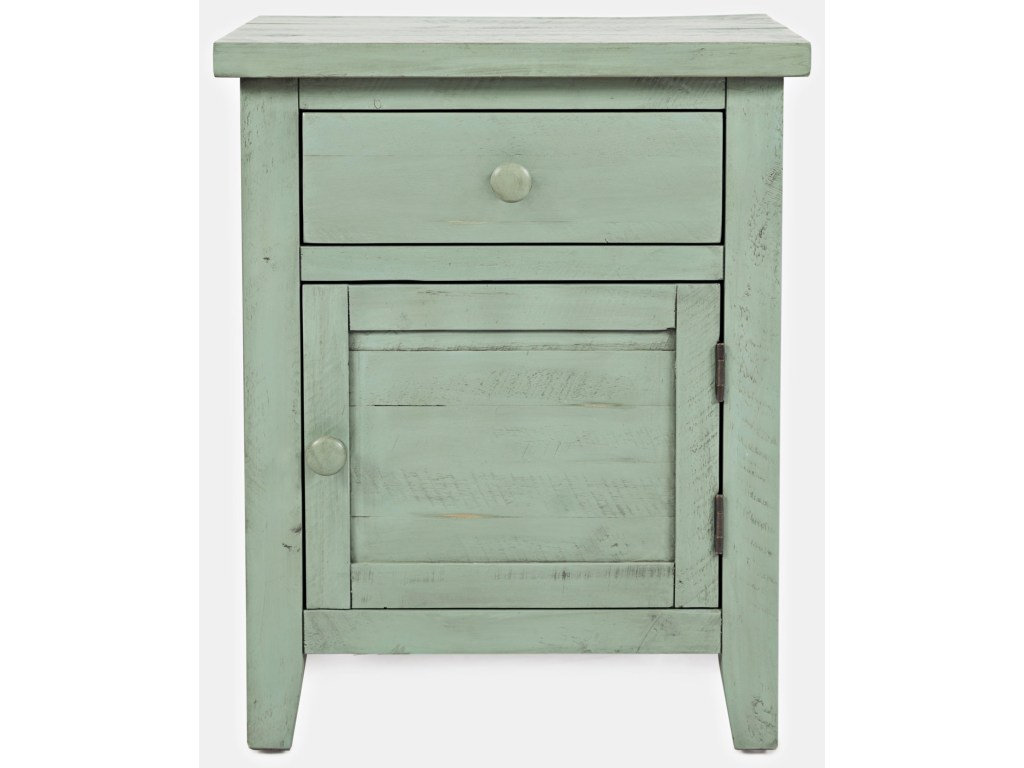 jofran american folklore accent table westrich furniture products color green folkloreaccent unfinished dining chairs ashley storage half round with drawers kmart camping wood