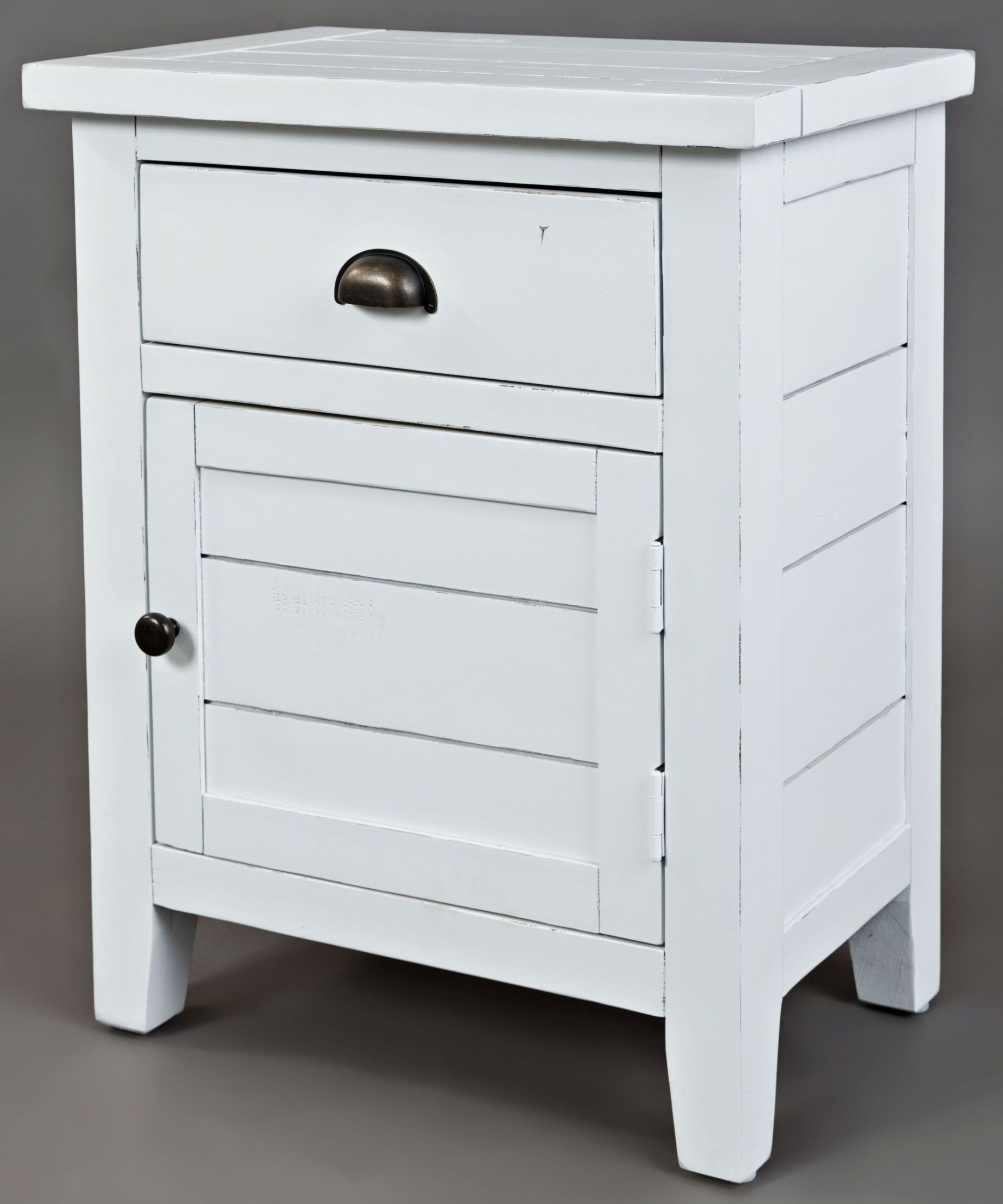 jofran artisans craft weathered white accent table artisan angle with drawers media gallery hexagon coffee house and home decorating colourful marble desk pottery barn round chair
