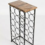 jofran dayton global archive accent table frnurnmiywtp with wine rack additional bottle storage blanket box ikea solid teak coffee bar small round pedestal side white contemporary 150x150