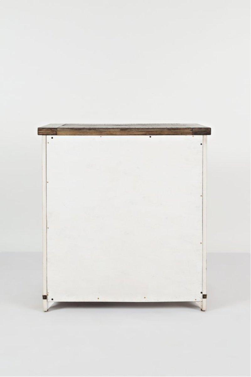 jofran evansville madison county barn door frerleobopnd accent table with cabinet vintage white allen side ikea toy storage unit chevron runner pattern small pine outdoor patio