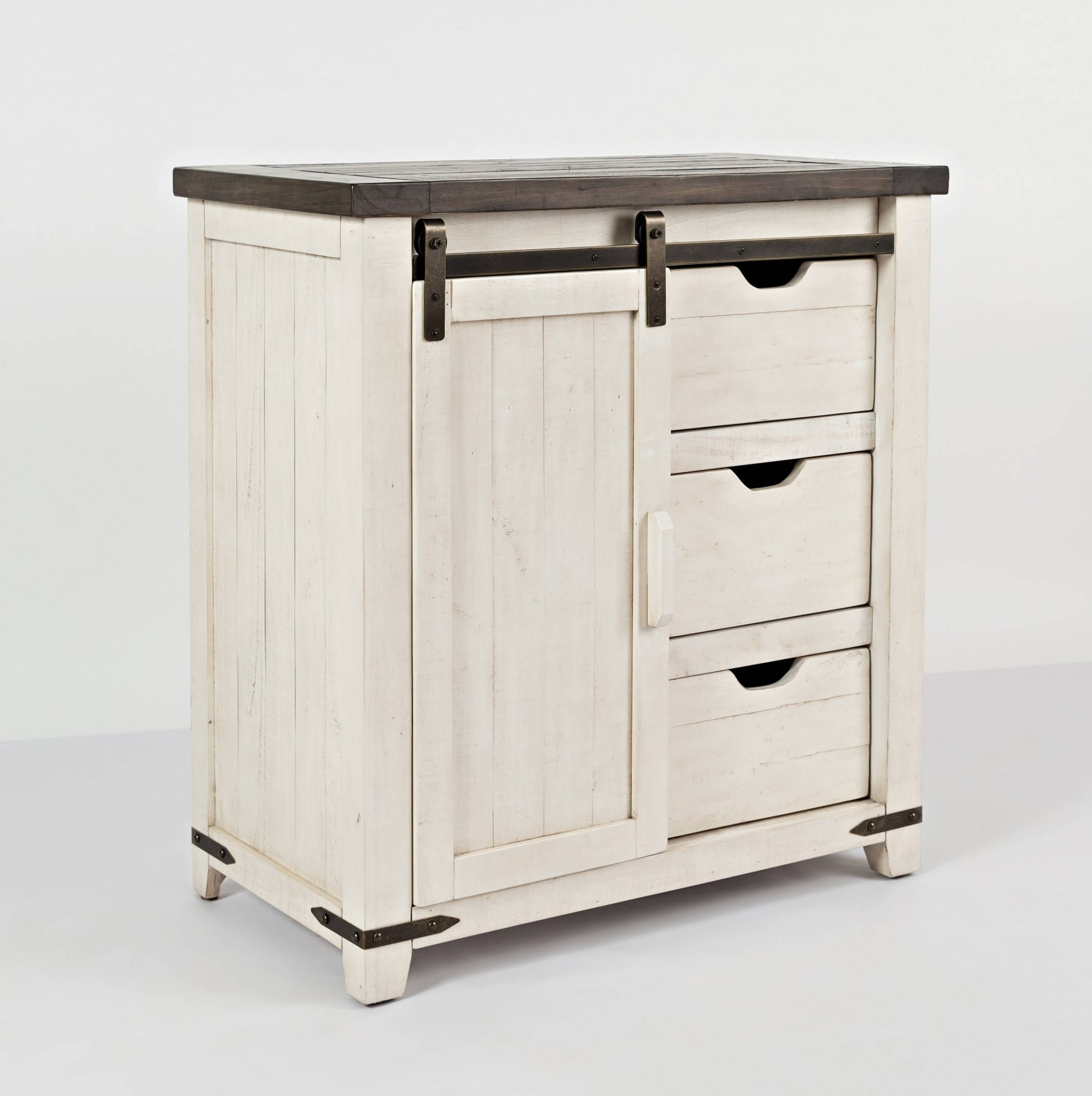 jofran furniture madison county vintage white inch accent cabinet jfn table click enlarge room dividers metal glass bedside designer sofa company pier one rugs clearance wood with