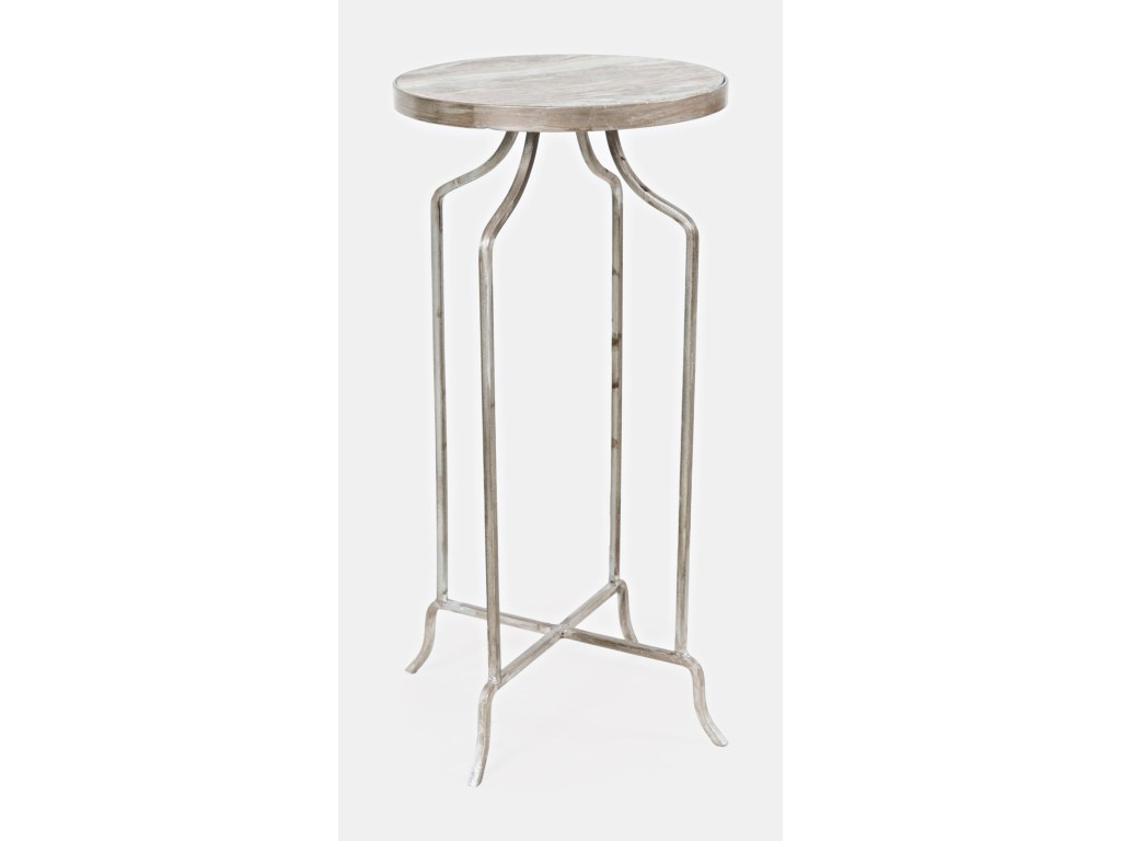 jofran global archive jamison round marble accent table products color black metal archivejamison nautical island lighting silver occasional narrow wine rack dining room matching