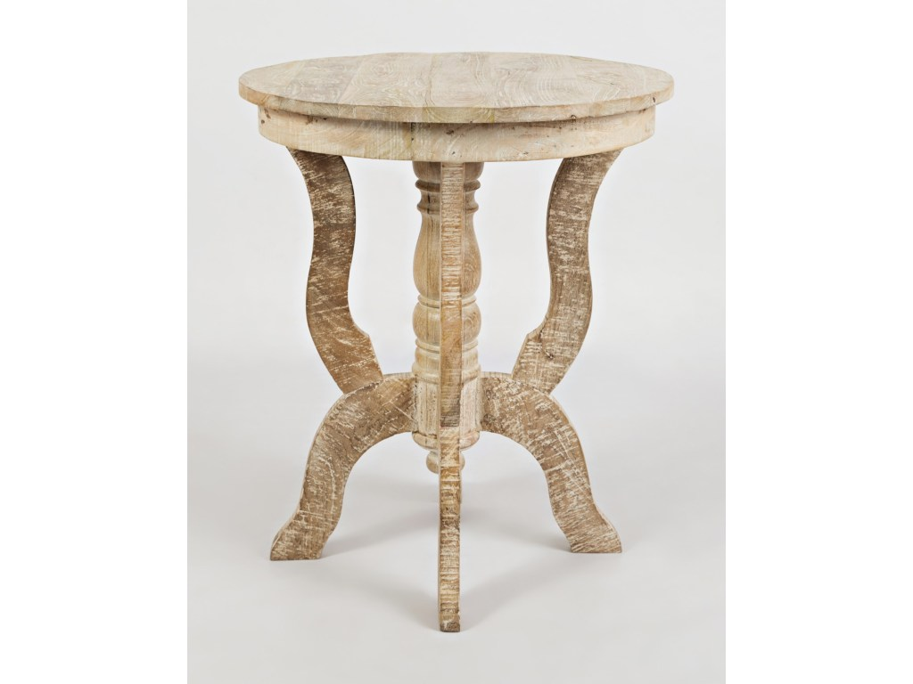 jofran global archive round accent table adcock furniture end tables products color threshold wood archiveround designer tablecloths for small spaces target high and chairs patio