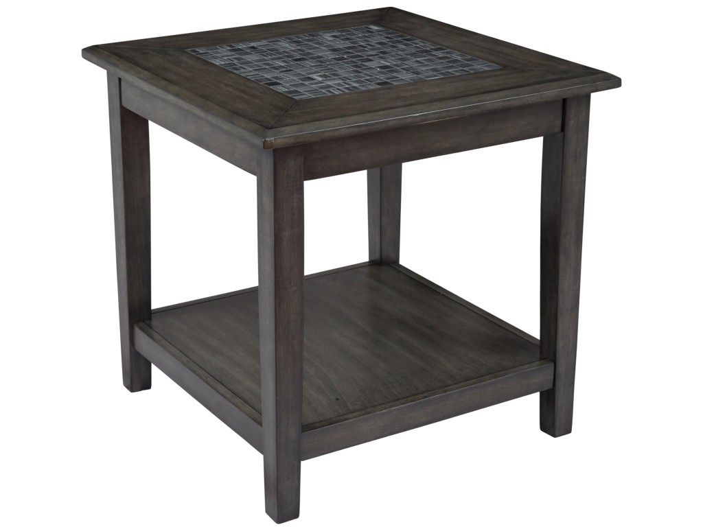 jofran grey mosaic end table darvin furniture tables products color threshold accent mosaicend outdoor closet daybeds clearance glass tops for wood ikea black side argos pier
