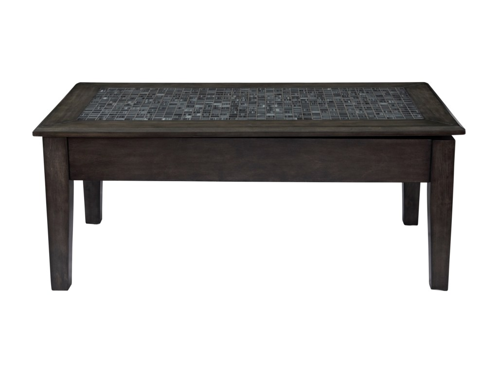jofran grey mosaic lift top cocktail table value city furniture products color threshold accent mosaiclift contemporary coffee tables and end outdoor bbq prep glass tops for wood