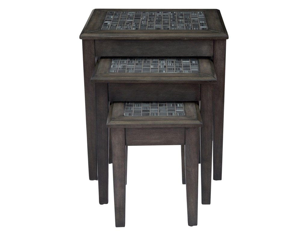 jofran grey mosaic nesting tables set darvin furniture products color threshold accent table mosaicnesting contemporary coffee and end red home decor accents aluminum outdoor