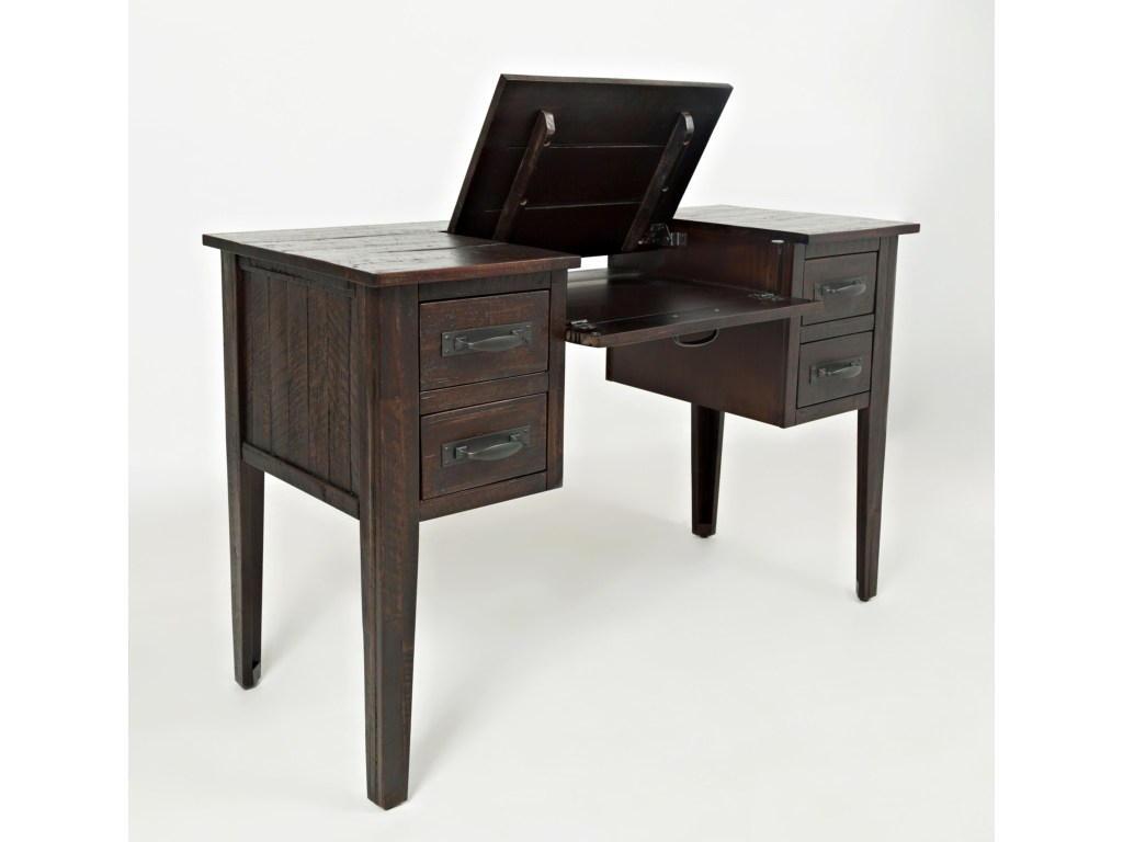 jofran jax desk rotmans table desks writing products color jackson lodge youth accent with charging station jaxdesk marble gold coffee mirrored console cabinet plastic cube