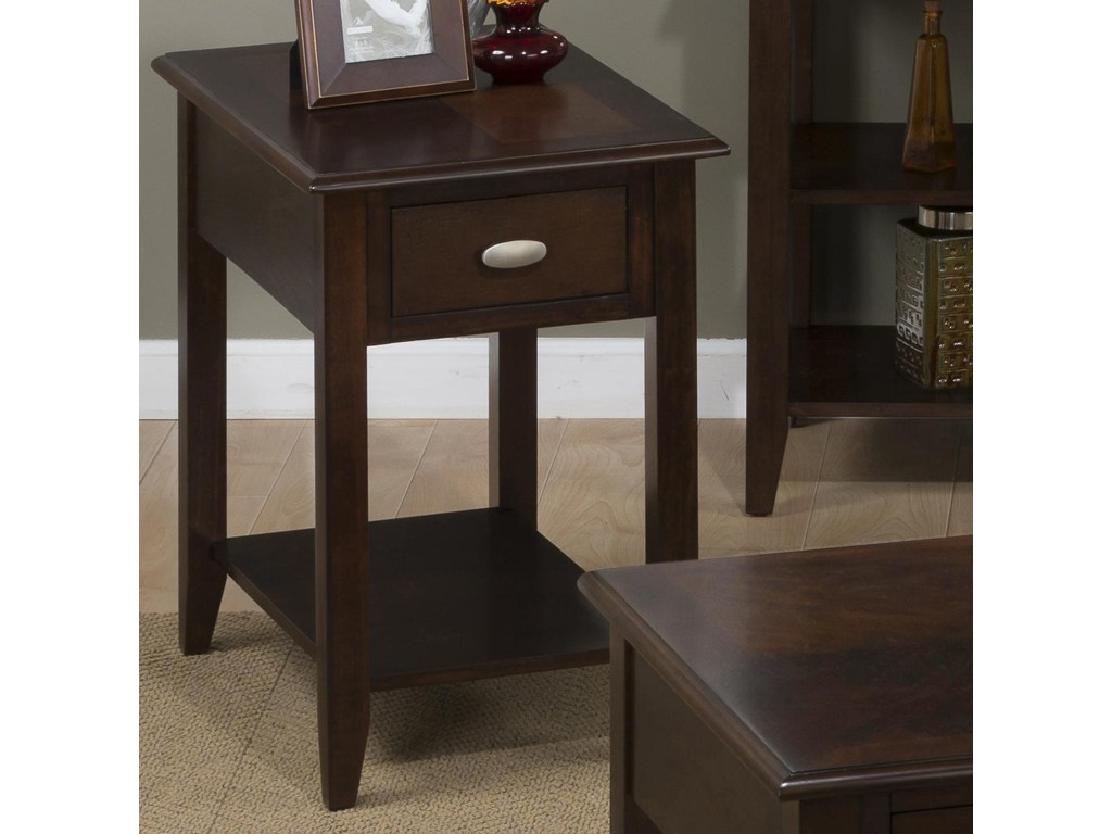 jofran merlot chairside table for small spaces steger furniture products color accent merlotchairside making end tables tablecloth inch square wicker side indoor battery powered