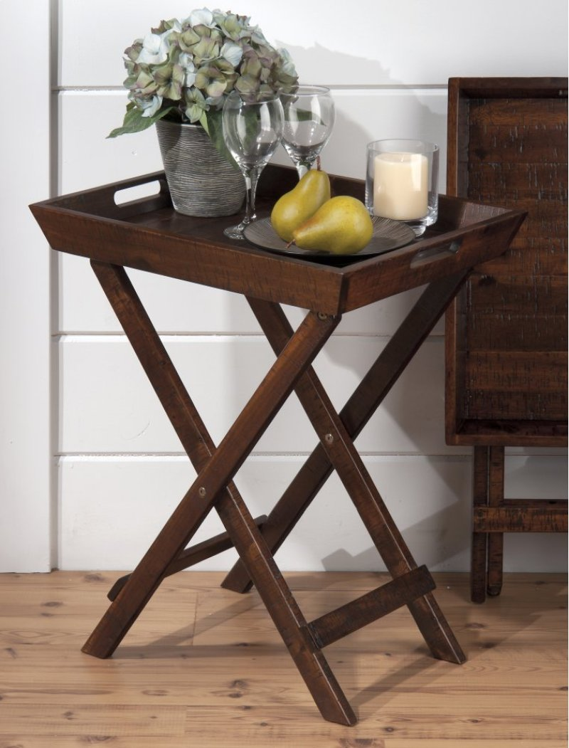 jofran norwich urban lodge folding accent tray frdroxelbsco metal table homemade outdoor coffee side tall narrow unfinished wood console high top with wine rack small white