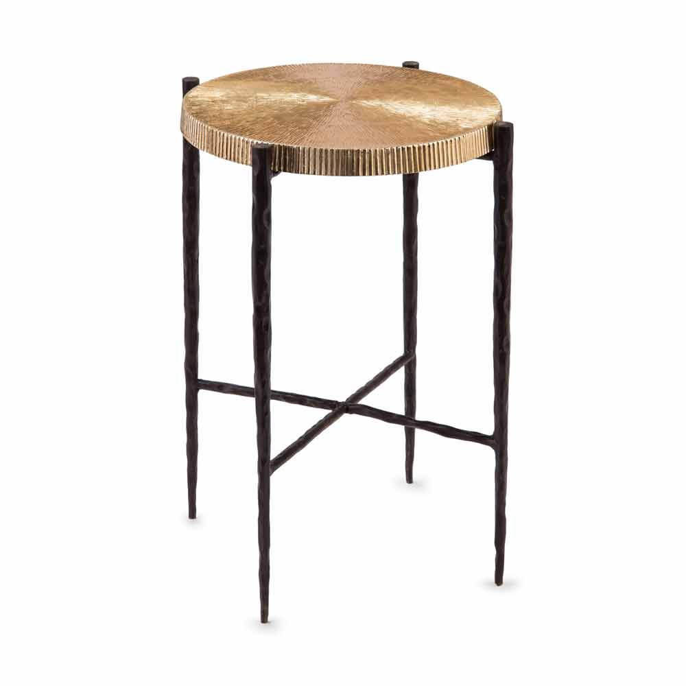 john richard oxidized black gold accent table free shipping blackgold jra marble iron and glass simple quilted runner patterns narrow coffee for small space tablecloth inch round