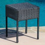 jolie wicker end table woven metal accent red cloth harrietta piece set ashley furniture coffee and tables mat outside patio recycled wood low corner diy cooler large chair target 150x150
