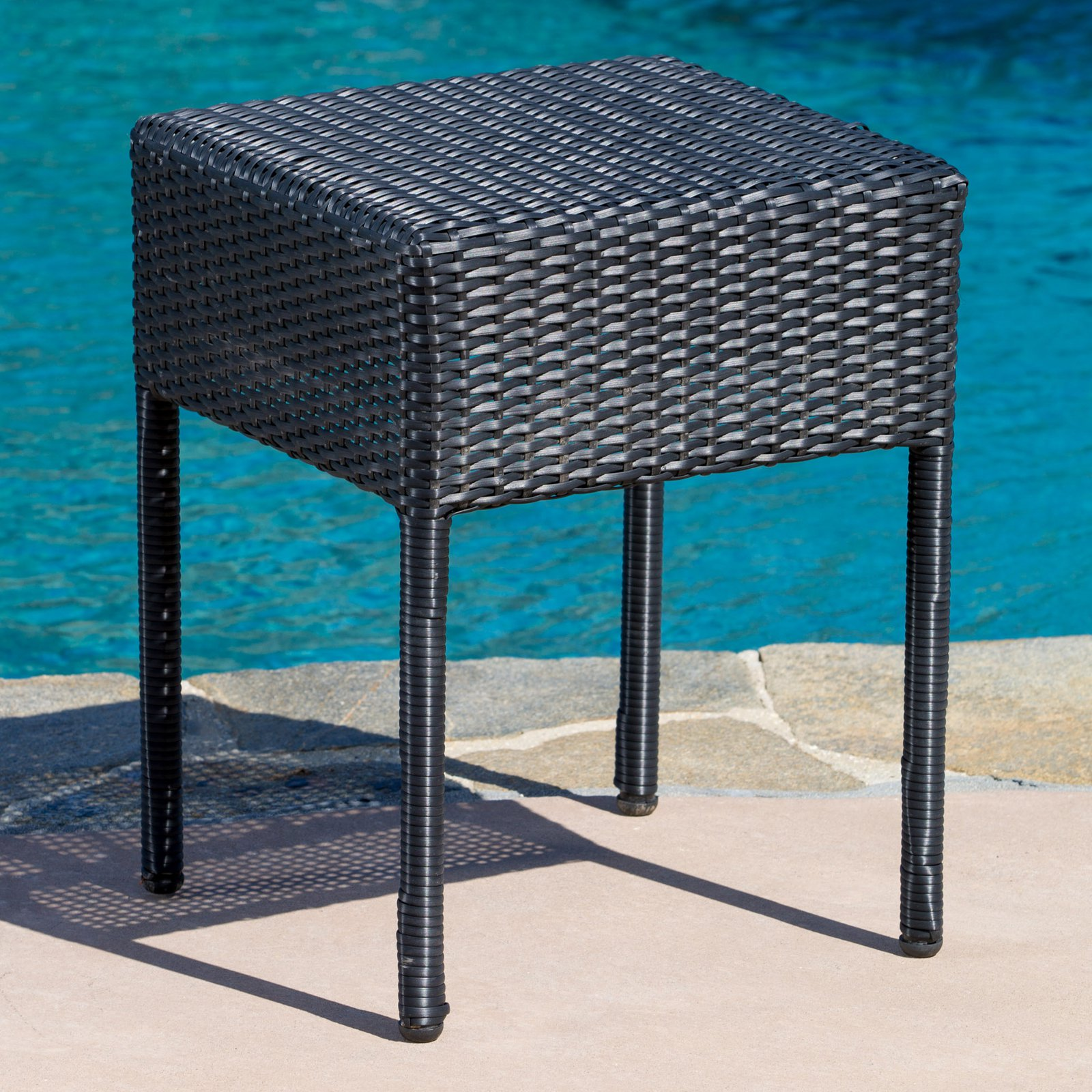 jolie wicker end table woven metal accent red cloth harrietta piece set ashley furniture coffee and tables mat outside patio recycled wood low corner diy cooler large chair target