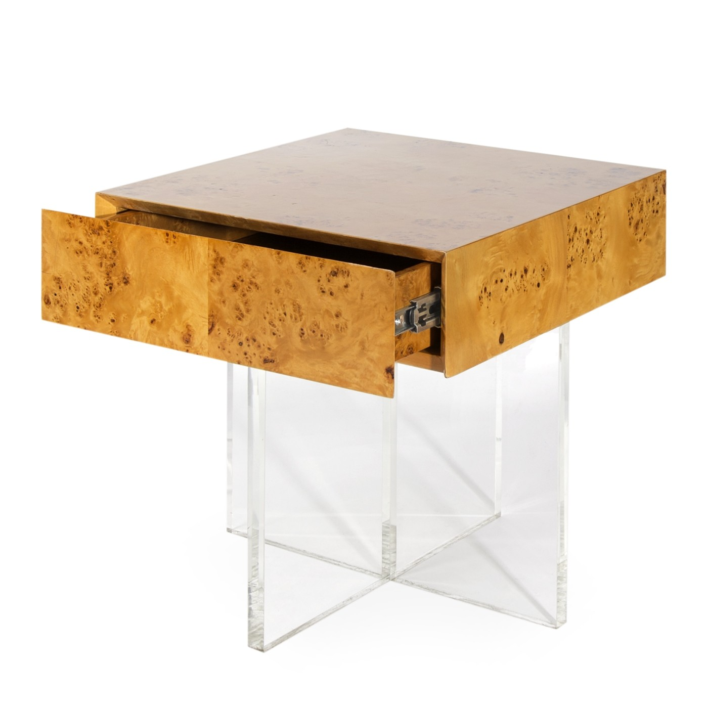 jonathan adler bond end table burled mappa candelabra inc burl wood accent acrylic stacking tables floor lamps toronto garden laptop round mosaic outdoor wooden bedside cabinets