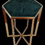 jonathan adler inspired art deco green marble side table with brass base emerald accent chairish decorative wine rack corner storage chest weber grill ikea small bedside legion 150x150