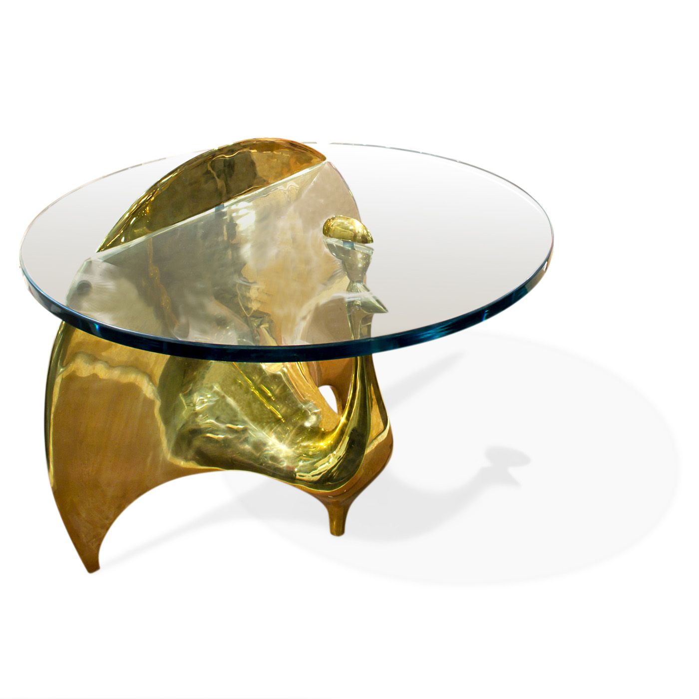 jonathan adler peacock simplified into simple sinuous lines simplify oval accent table made from solid brass with half asian lamp shade west elm marble top tile transition small