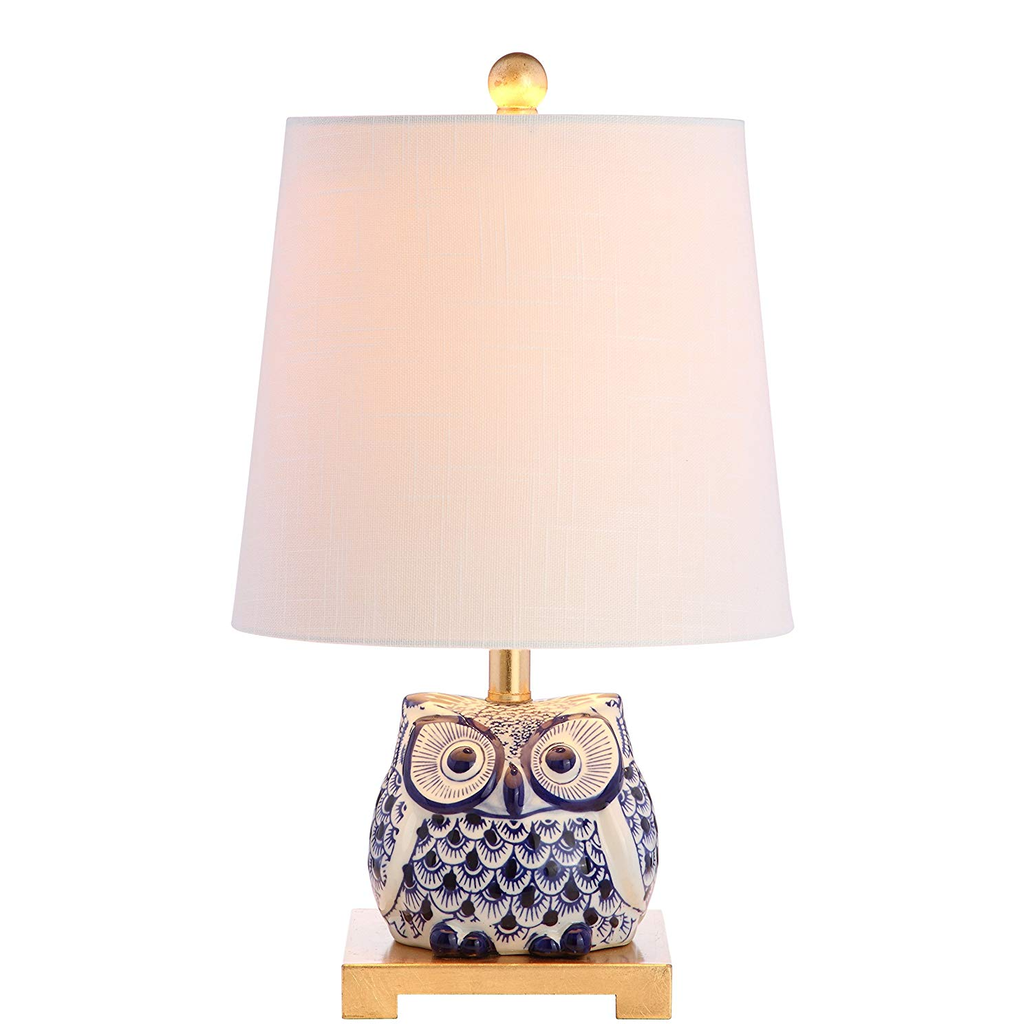 jonathan collection justina ceramic mini table lamp accent lamps blue white small entryway round garden ikea bunnings outdoor storage shelf foyer cabinet wine cupboard floating