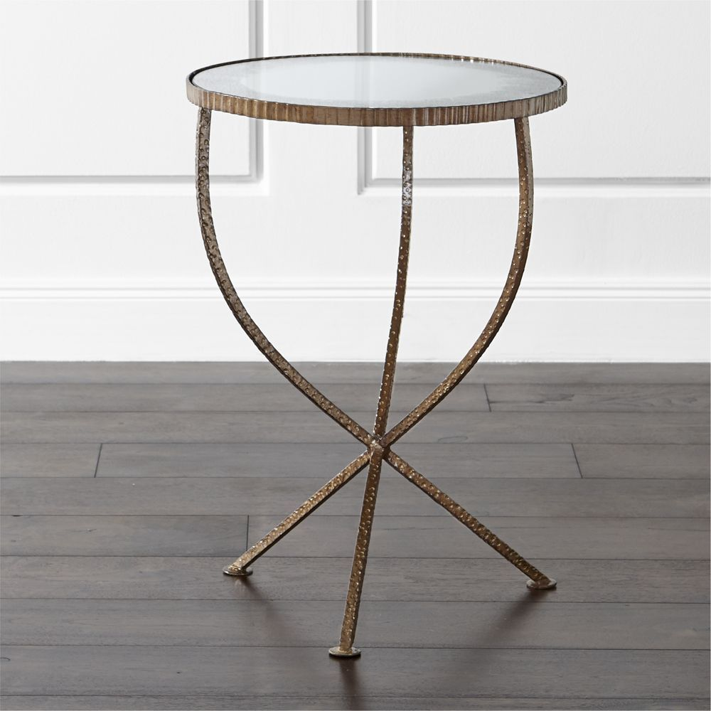 jules small accent table products modern crate and barrel folding patio black white coffee yellow lamp narrow kitchen pottery barn entry bench bedroom chandeliers depot safavieh