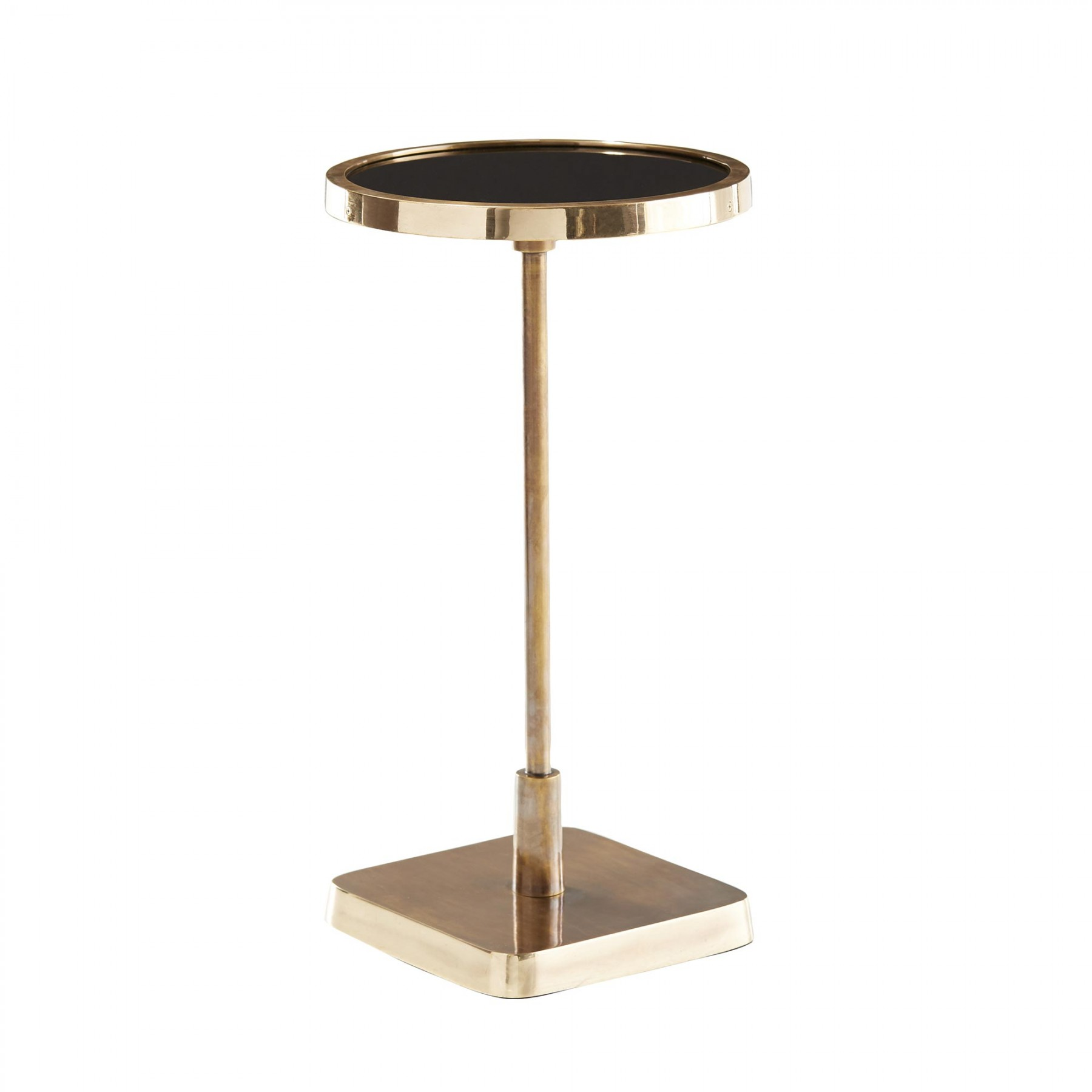 kaela round accent table tables with matching mirrors glass metal end pedestal dining room patio umbrella small square pier one chairs kitchen counter studded nate berkus sheets