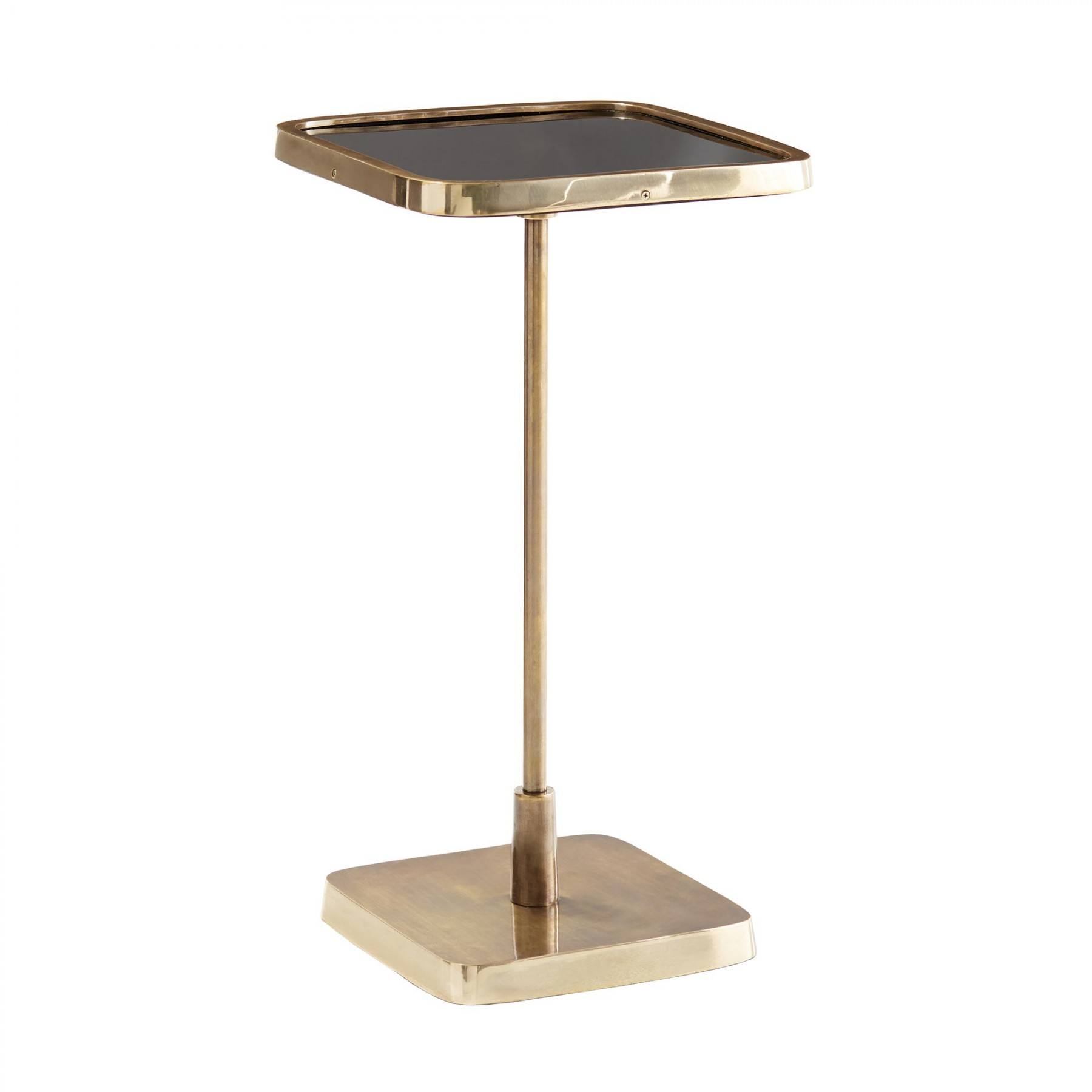 kaela square accent table with drawer outdoor coffee ice bucket dark brown wood end designs catalogue tiffany lamps lighted base white top side beach furniture target chairs