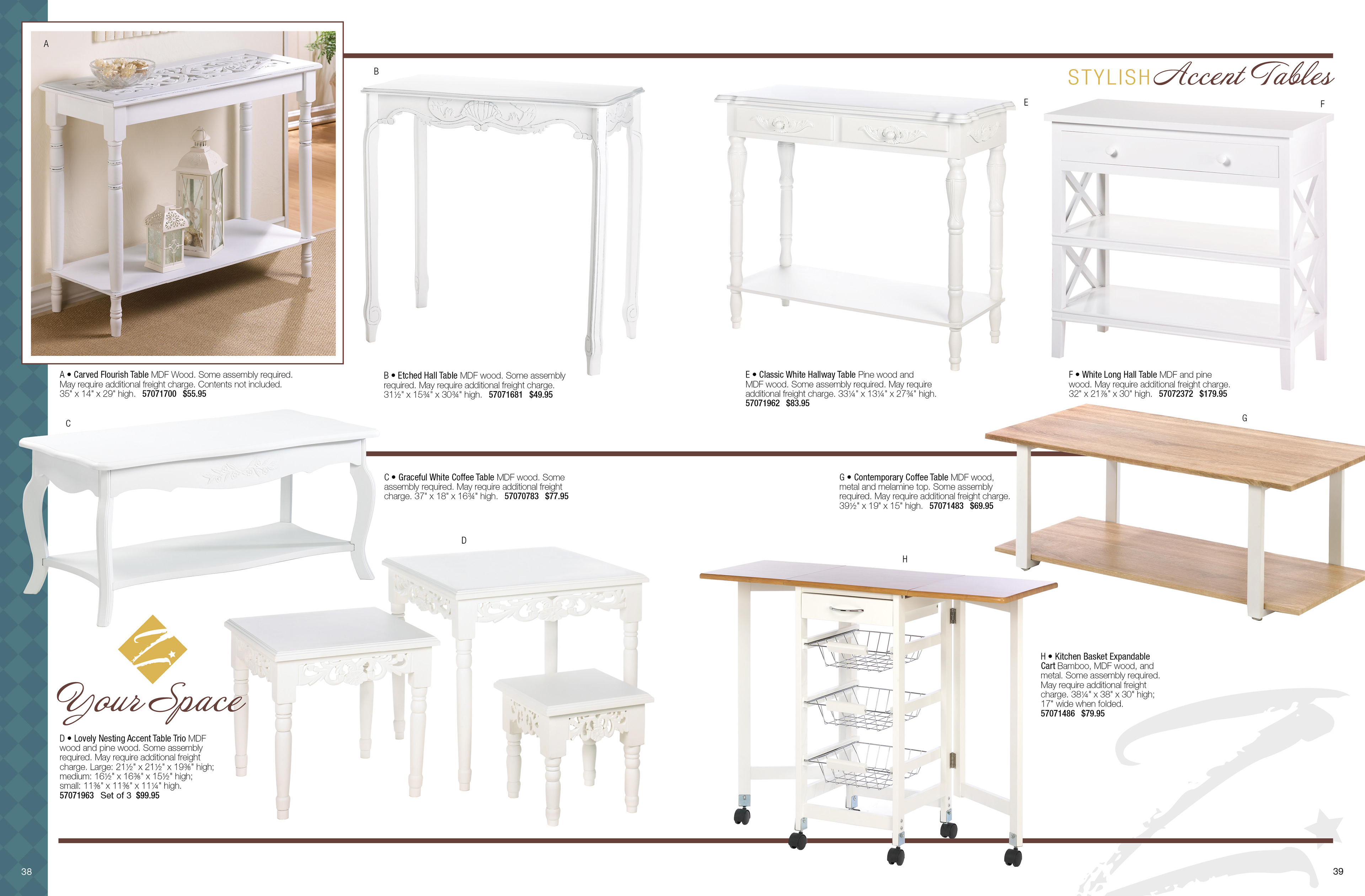 karen ose zingz home decor book high round accent table design concept production for specialty catalog ebook and print one the four categories products piece hampton bay pembrey