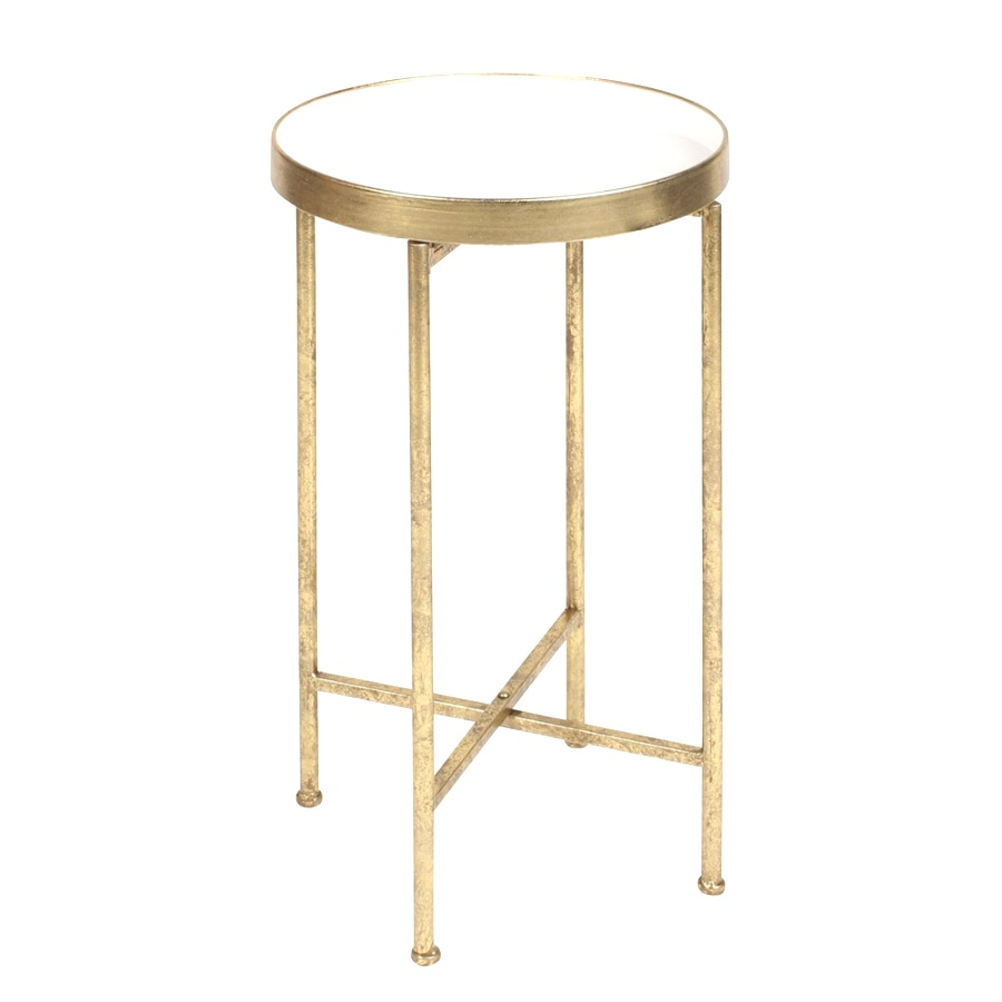 kate and laurel deliah round metal accent table end homepop original resolution wooden bedside lamps tall bar chairs rustic storage trunk coffee dark grey tables centerpiece ideas
