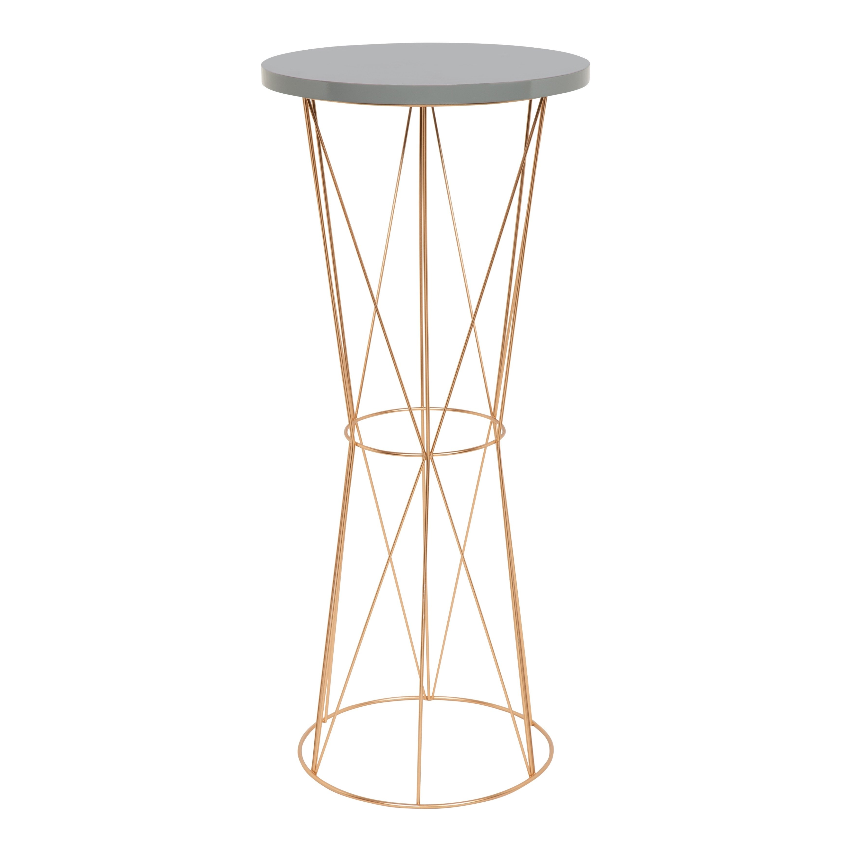 kate and laurel mendel round metal accent table iron gold side coffee decorative accents traditional dining room furniture west elm concrete look rustic nested deck christmas tree