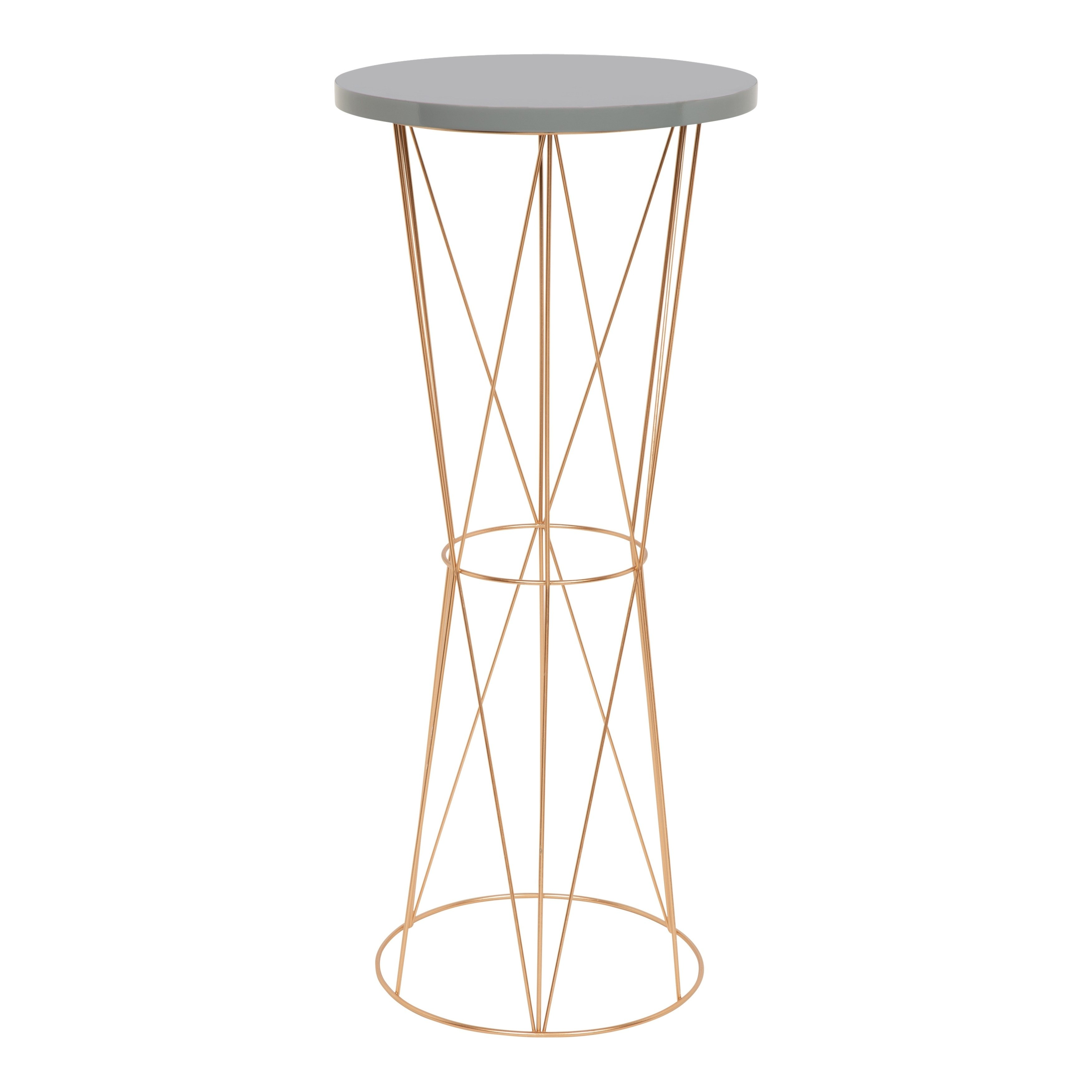 kate and laurel mendel round metal accent table wood reading lamp coffee tables marble granite inch runner ethan allen chairs bistro umbrella little bunnings outdoor seating