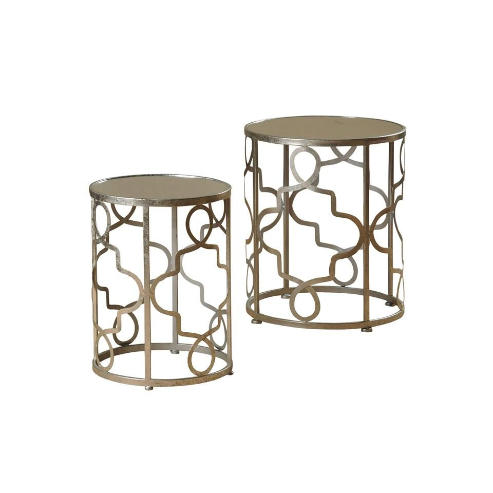 kaylie round metal accent tables vintage home charlotte table small square kitchen spring runner barnwood end kitchenette furniture simple console antique dressing pier one ott