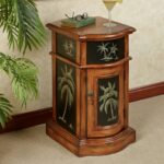 kellsie palm tree storage accent cabinet cherry corner table touch zoom simple side plans small round bar rustic pedestal aluminum outdoor end tables modern furniture miami dark 150x150