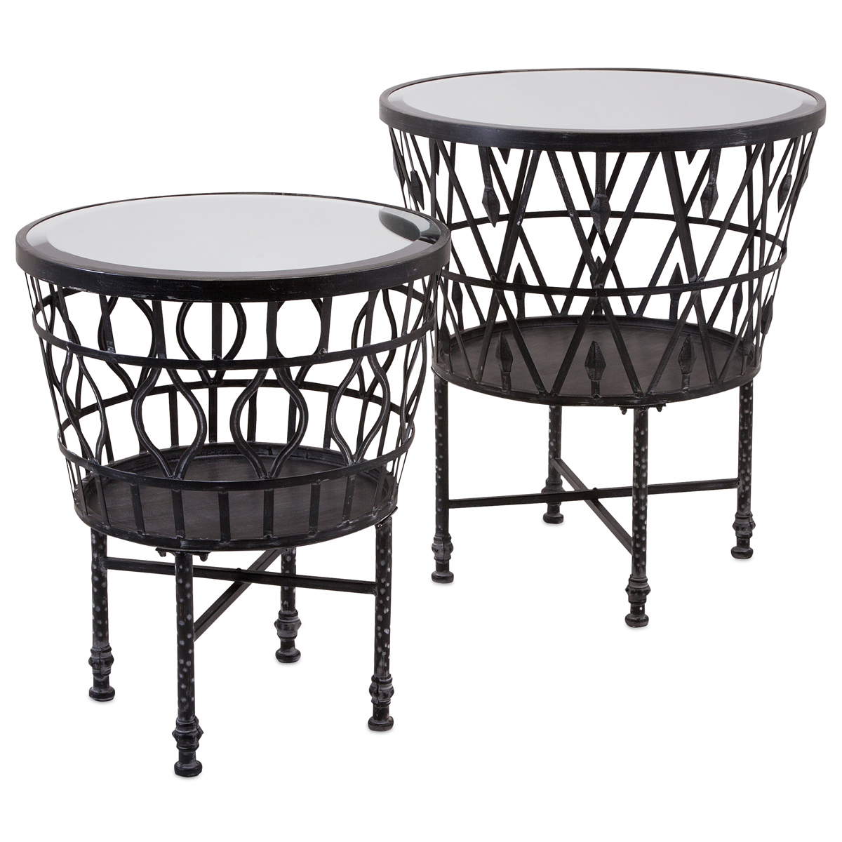 kelsey wrought iron accent tables set inch high black table headboard with lights french round side decorations skinny ikea balcony furniture wicker barn door pantry square