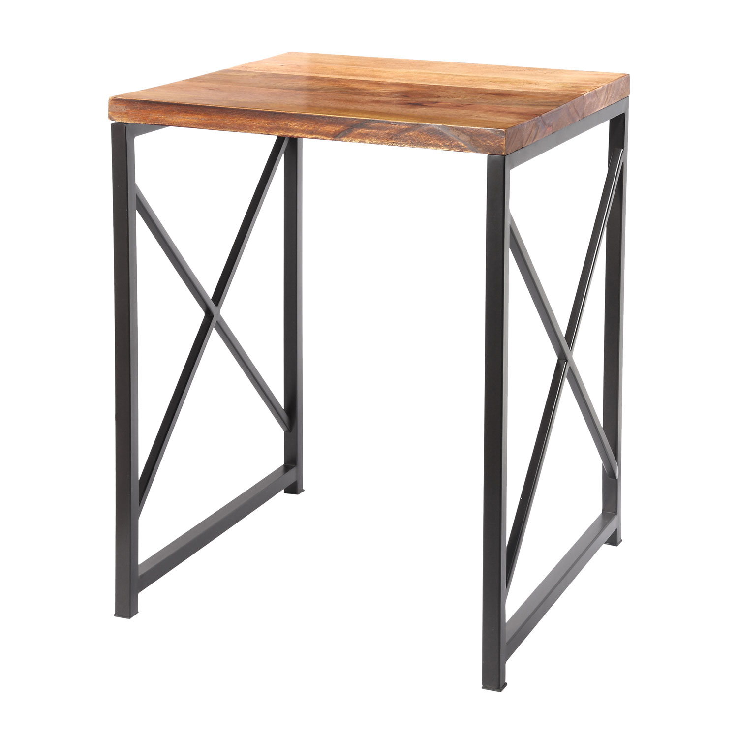 kenroy home plank light natural oil rubbed bronze metal frame accent tables table homebase garden chairs pottery barn legs drum seat height small deck furniture covers hand