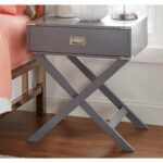 kenton base wood accent campaign table inspire bold better homes and gardens multiple colors free shipping today contemporary bedside tables thin end living room moroccan mosaic 150x150