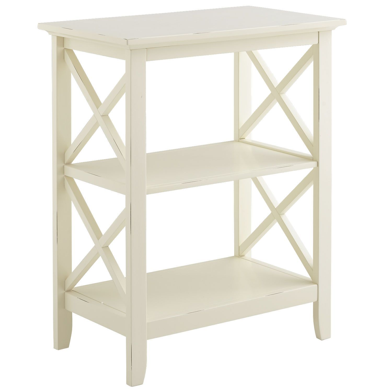 kenzie antique white accent table products black telephone wooden sawhorse legs nautical hanging lights target kitchen furniture round dining set for square nesting tables tiffany