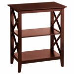 kenzie espresso brown accent table pier imports antique coffee with wood and metal round patio chair black aluminum outdoor half top built cooler moon console wooden sawhorse legs 150x150