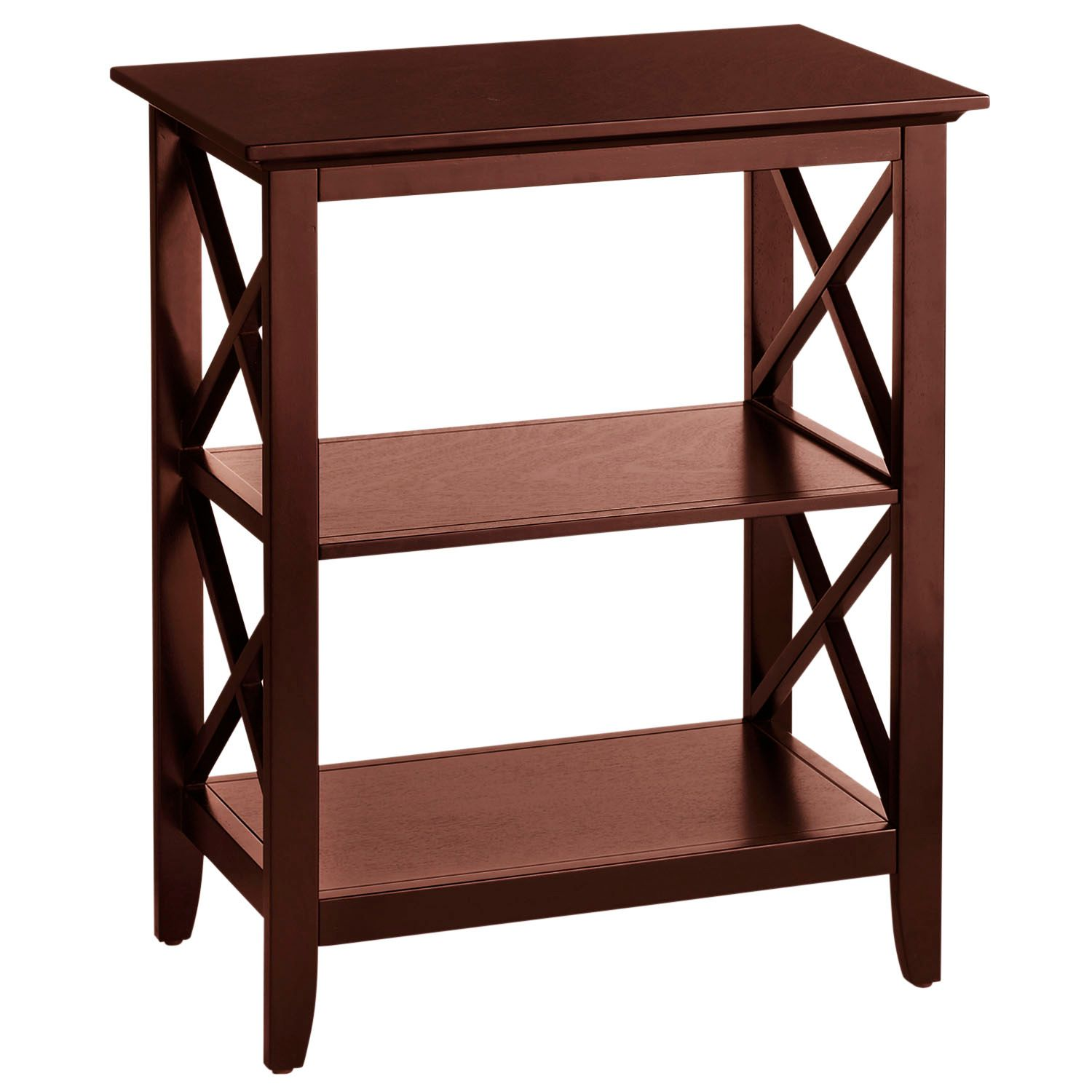 kenzie espresso brown accent table pier imports tables rustic wine rack front hall bunnings chairs and hiend accents barn door designs ethan allen ballan tiffany dragonfly lamp