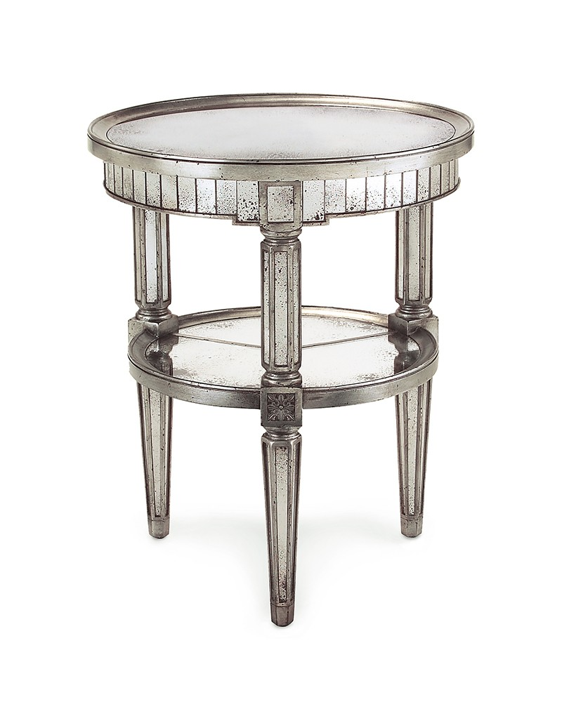 keswick round accent table eur grey unique cabinets ikea nest tables patio seating sets pink marble aqua blue trestle base dining drum seat throne slate top stand bar chinese