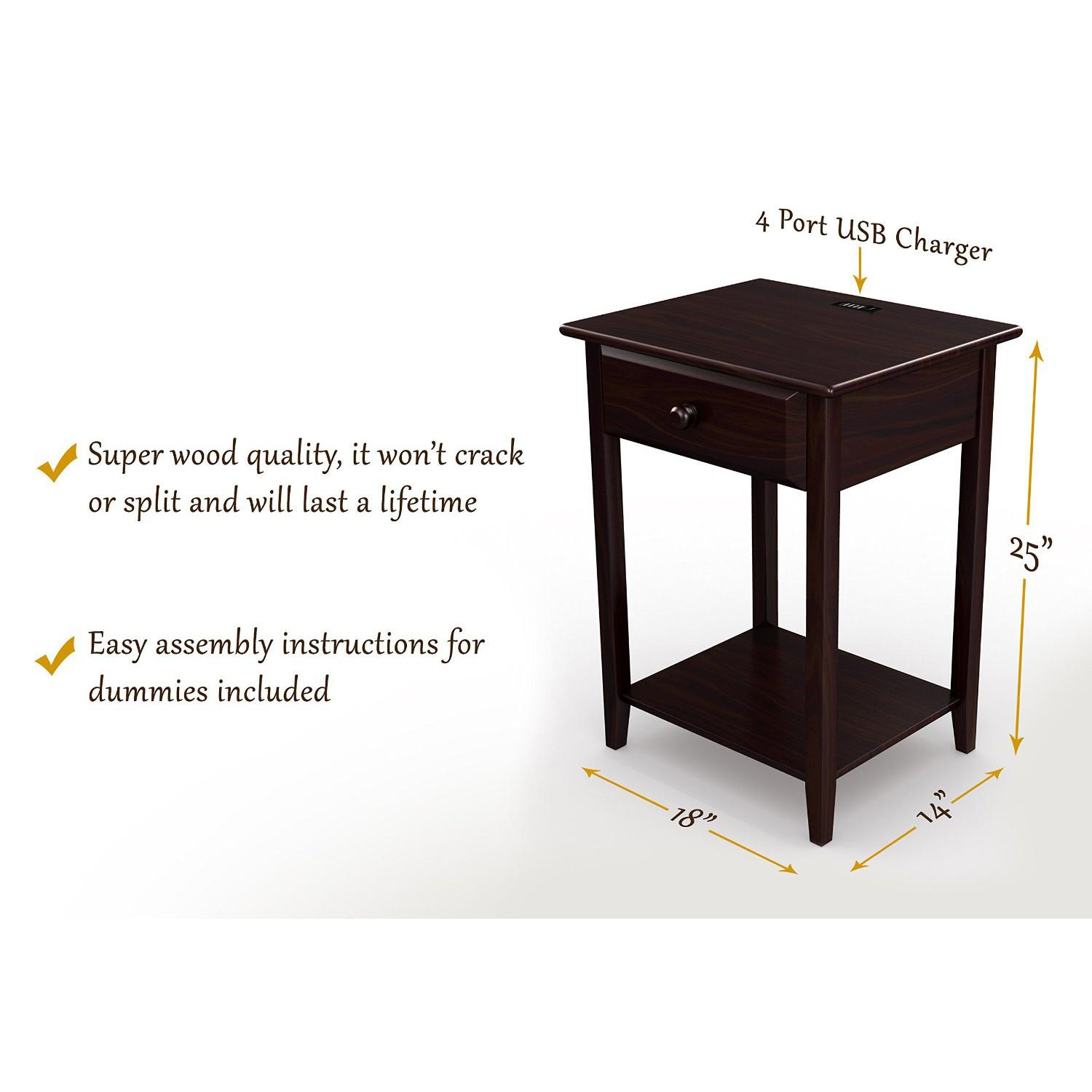 khols coupons probably outrageous real vanderbilt nightstand end stony edge night stand accent table with usb port espresso ports view larger candle centerpiece ideas rustic