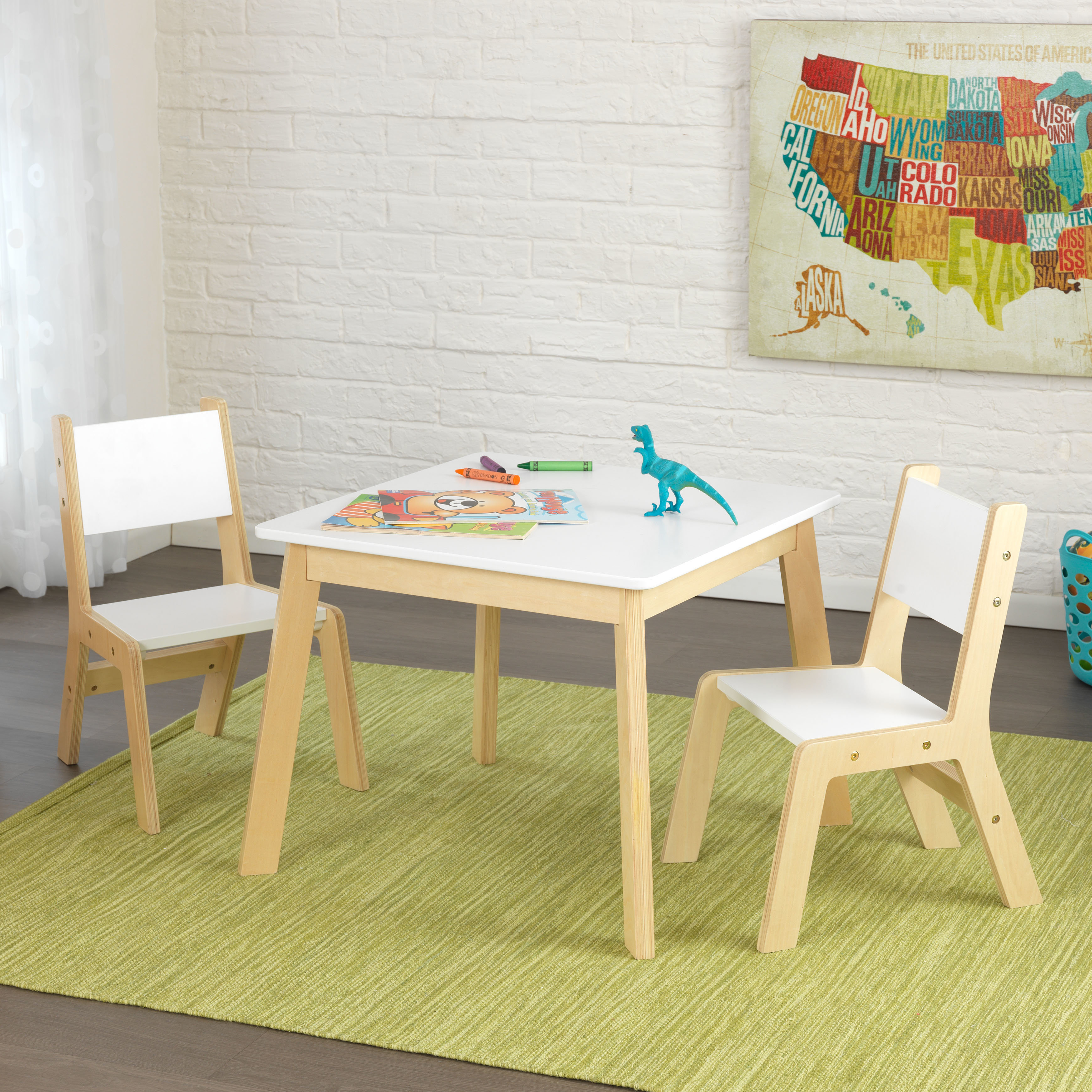 kidkraft modern kids piece writing table and chair set reviews accent side bathroom art round glass top bedside banana lounge bunnings unique furniture foyer west elm payment