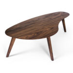 kidney shaped coffee table walnut inmod accent wicker furniture marble threshold round decor copper desk lamp brown outdoor side garden box mid century patio sofa clearance barn 150x150