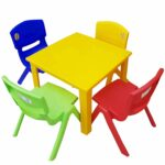 kids children plastic table strong folding high quality yellow outdoor accent suitable for side blue holiday presents small patio with chairs black and white chair lounge shaped 150x150