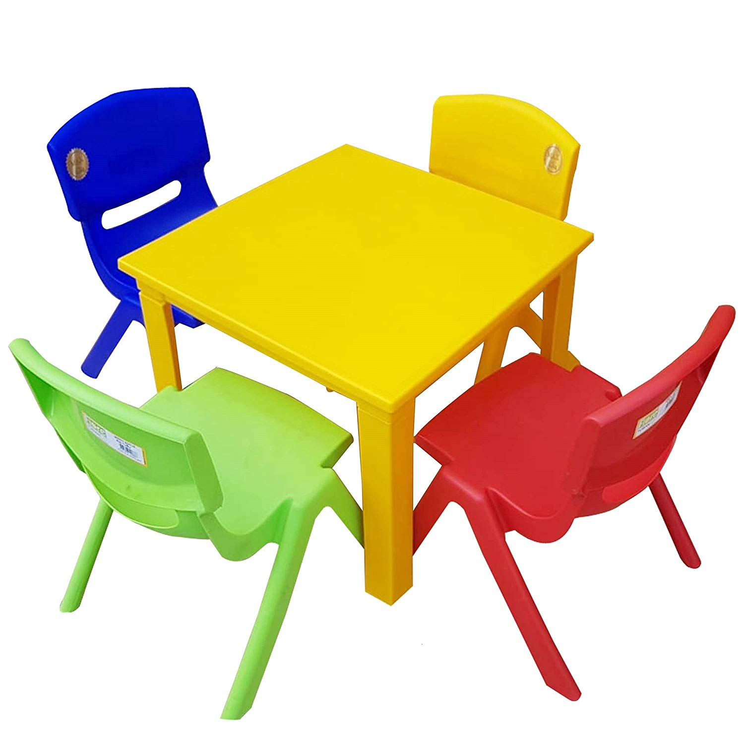 kids children plastic table strong folding high quality yellow outdoor accent suitable for side blue holiday presents small patio with chairs black and white chair lounge shaped