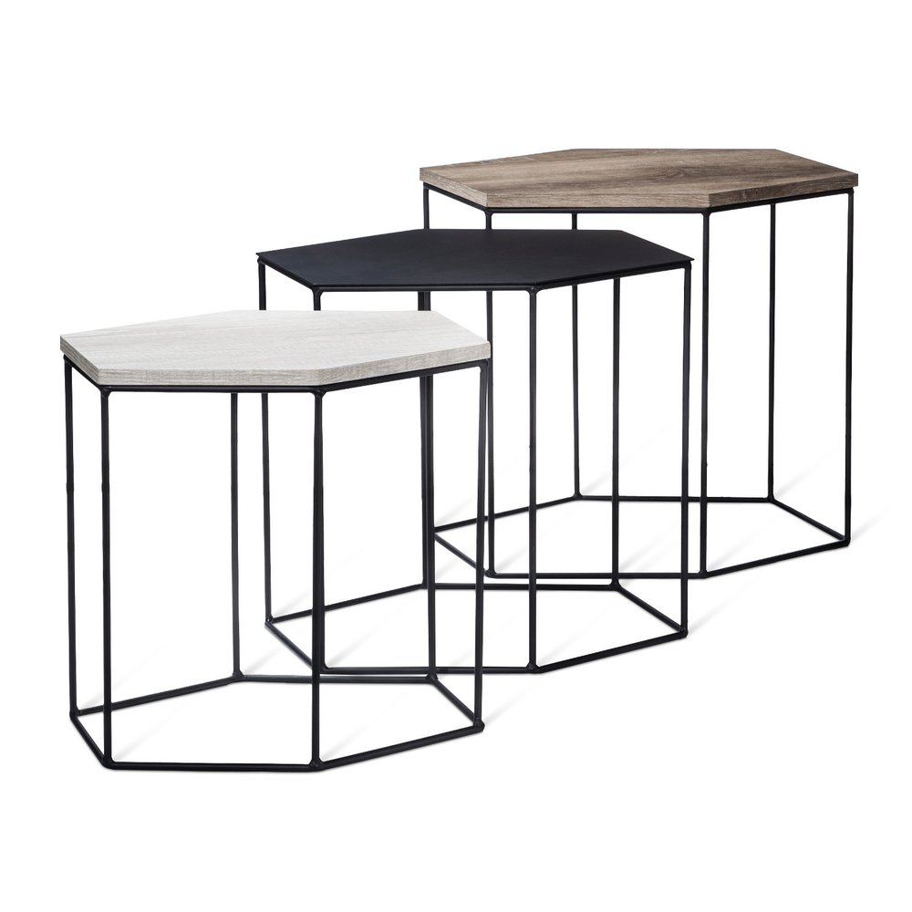 kinda have this thing for target new project collection albie knows from mawr metal accent table whitney hexagonal tables clearance small cherry inch wide console ethan allen