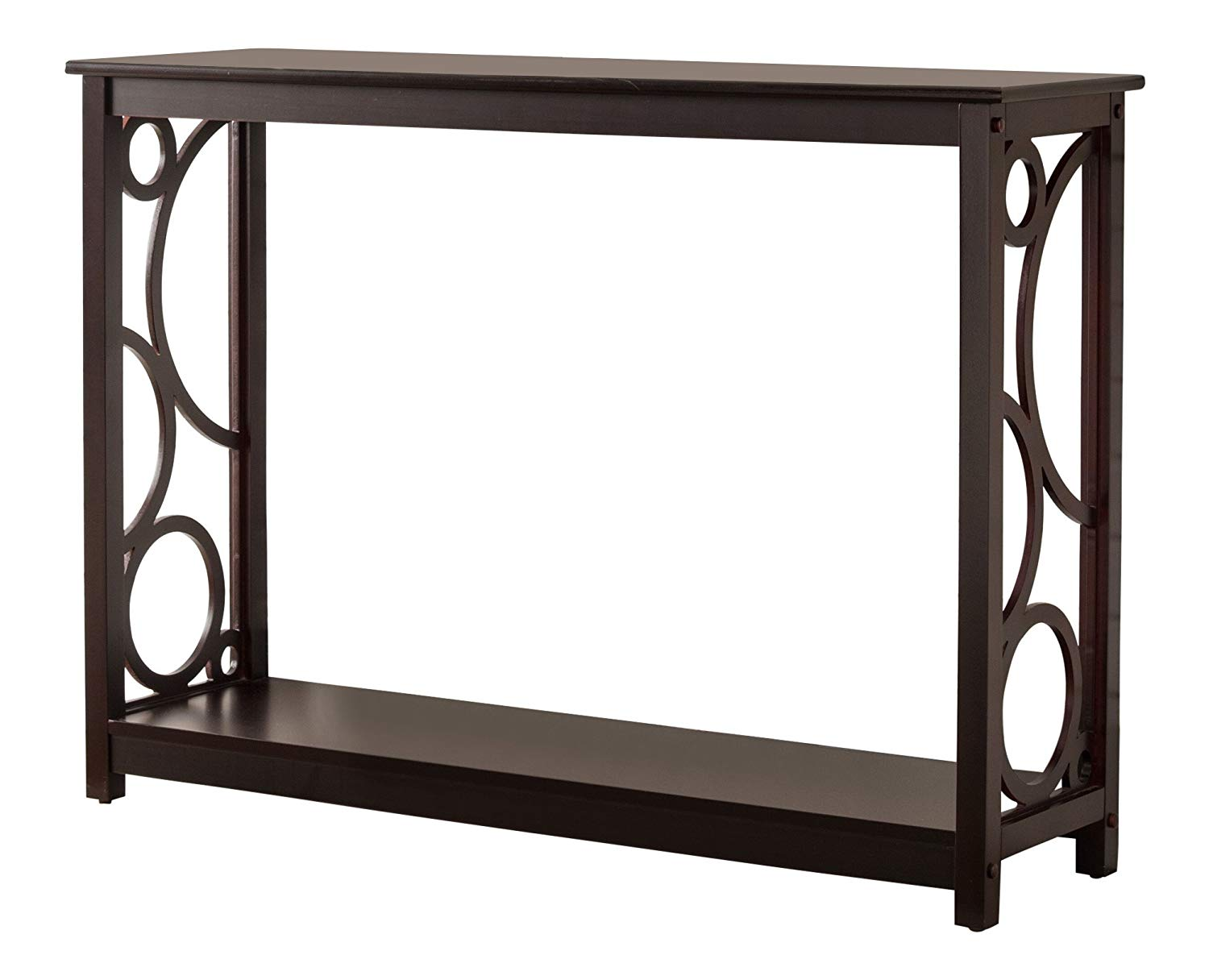 kings brand furniture cherry finish wood entryway monarch hall console accent table sofa kitchen dining teal chest comfy outdoor chair nesting nautical light fixtures indoor