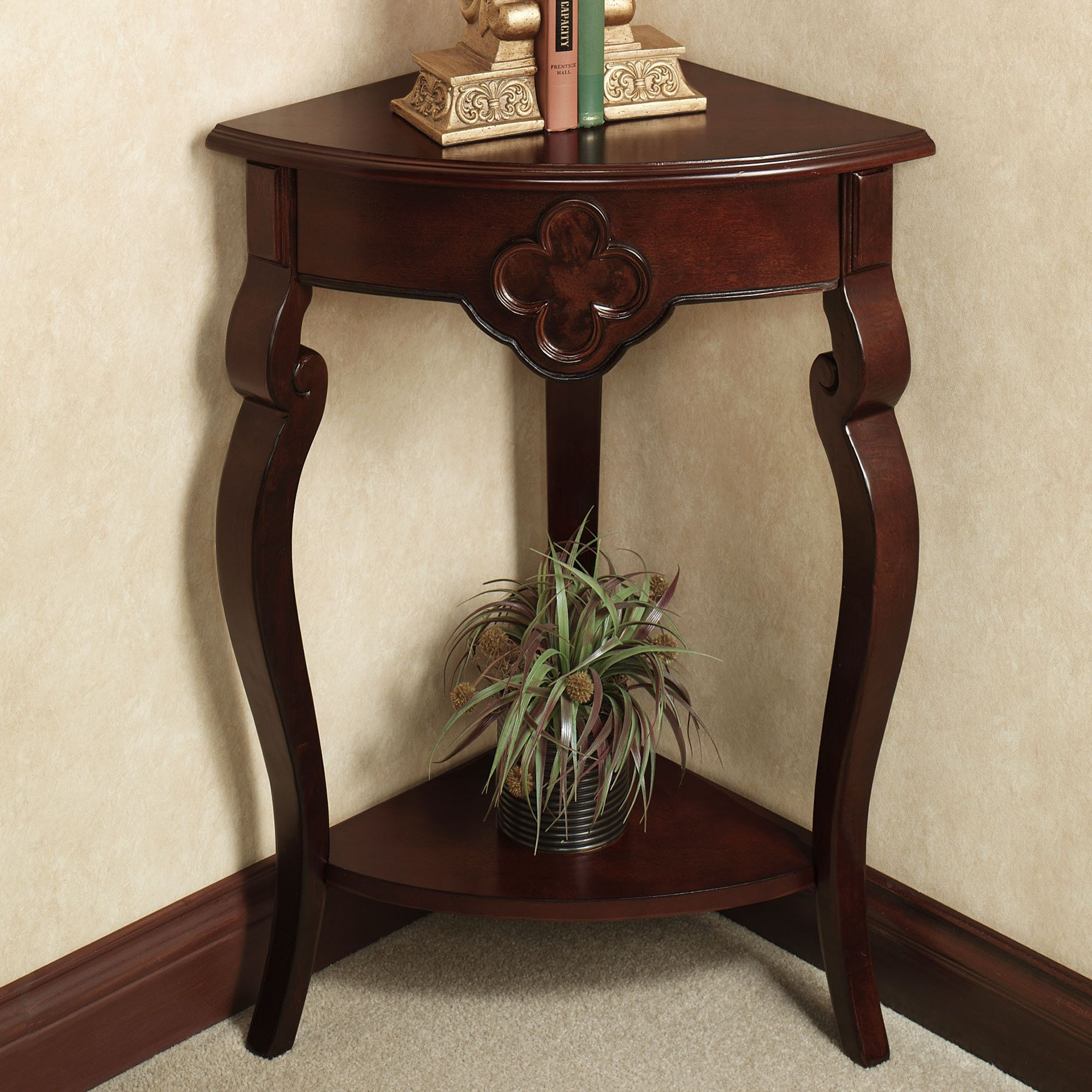 kingscourt corner accent table from touch class home for dining room deck furniture set console mirrors cool lamps hammered copper top end tables hourglass lighthouse nautical
