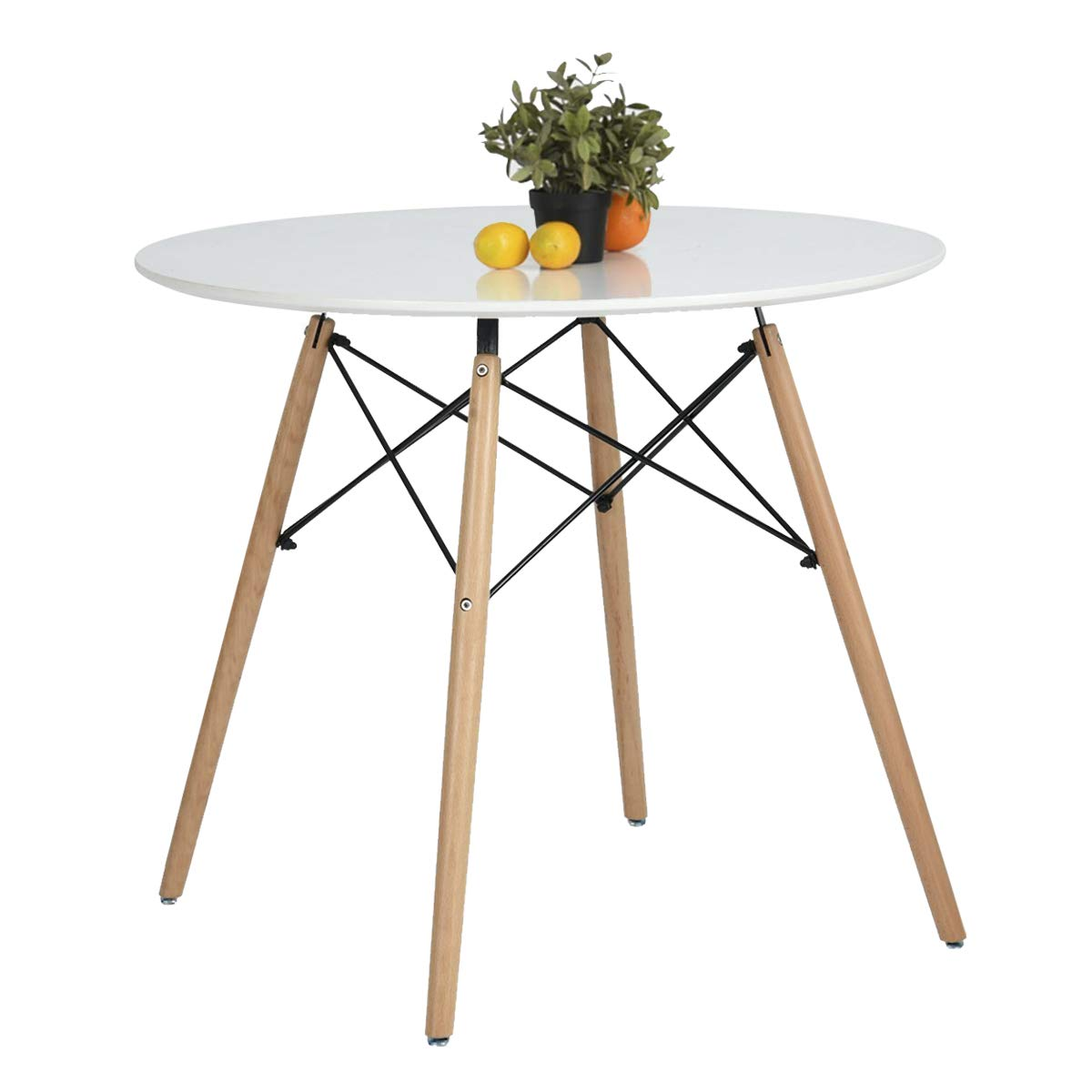 kitchen dining table white round beech wood legs foot pad screw dol accent with stock ture trestle bench seat west elm desk chair slim end bathroom slippers gold floor lamp thin