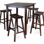 kitchen outdoor height tall inches standard gumtree rentals target bar bunnings dining table narrow for square and extra metal dimension stools metric legs set winsome accent full 150x150