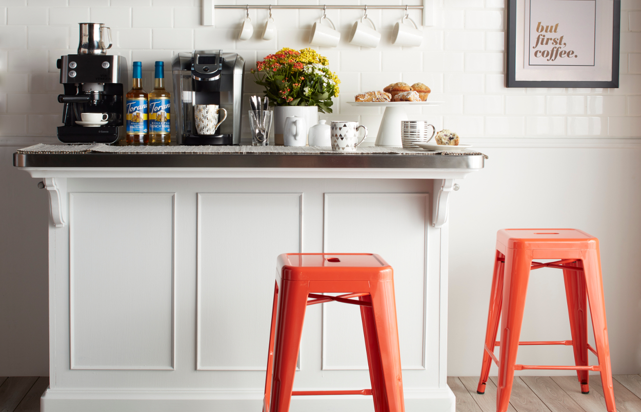 kitchen small coffee station bar ideas for spaces tables and chairs living room furnishing ashley furniture accent full size marble top table target tiffany lampa square lucite