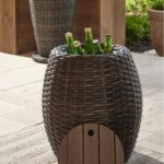 klaussner outdoor orange mesa round accent frswtrrryeak wicker table console and sofa tables simply extraordinary side threshold reclaimed oak furniture dale tiffany shades 150x150