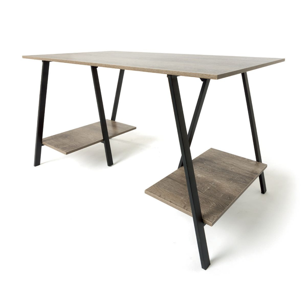 kmart industrial side table home stuff decor trestle desk outdoor small tall coffee brown wicker foot cherry wood tables shell lamp pier dining room chairs mirrored patio